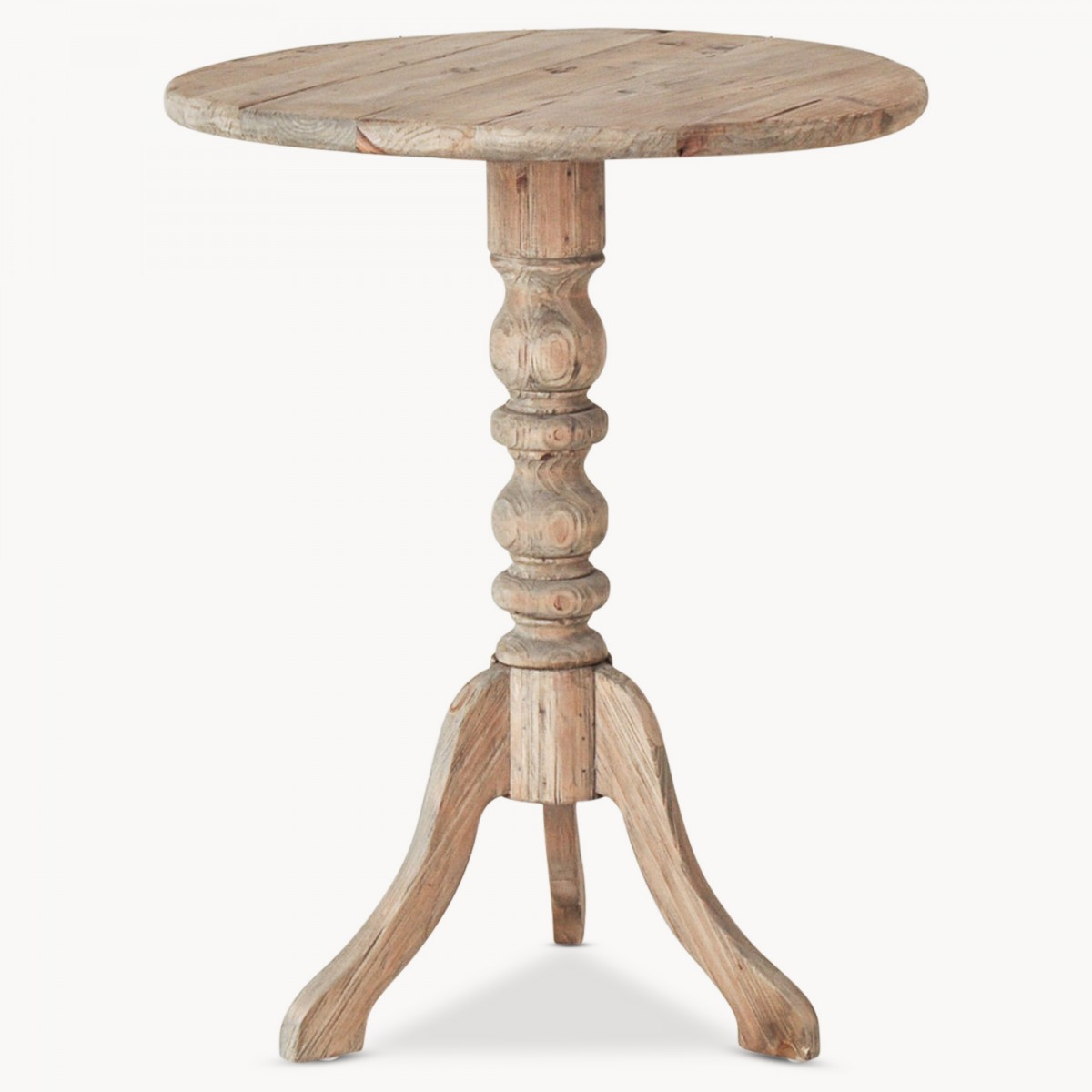 One World x Country Homes & Interiors: Carved Side Table