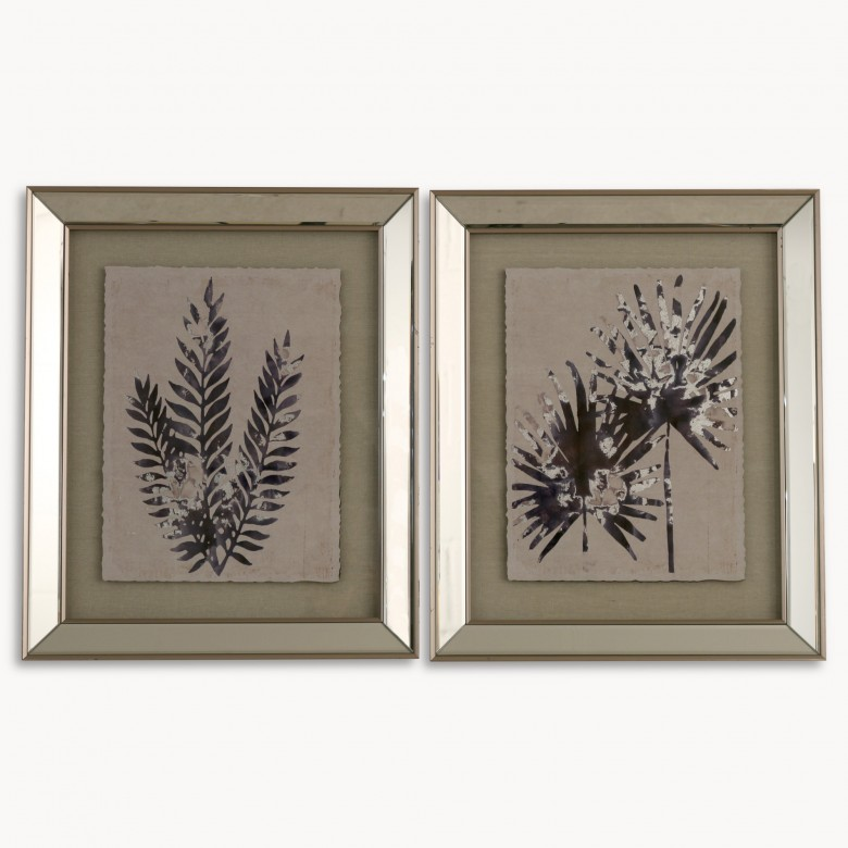 Lexington Set of 2 Framed Fern Wall Art | One World