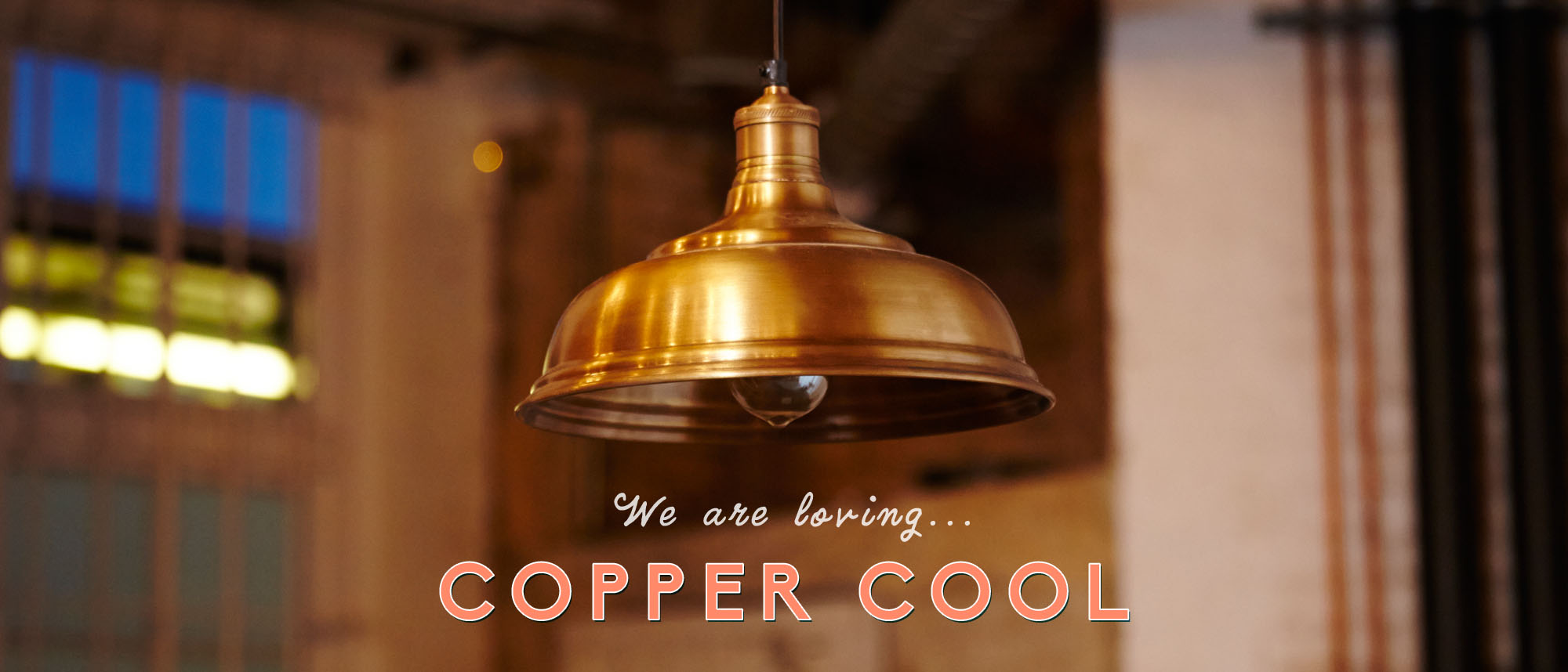 copper, light, pendant lamp