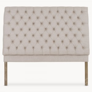 headboard, button back,