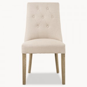 dining chair, button back