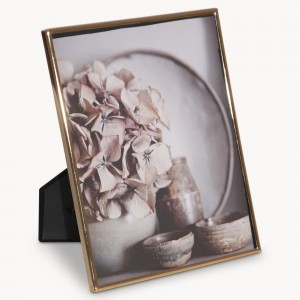 rose gold picture frame
