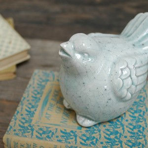 Decorative ceramic bird - mothers day gift ideas