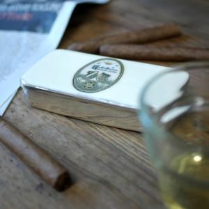 vintage style cigar tin