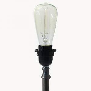 aveley straight filament bulb