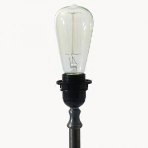 aveley straight filament bulb