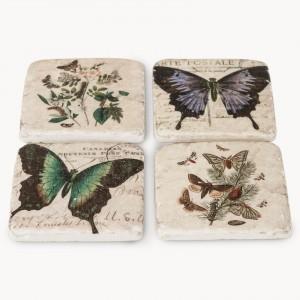 fairfield butterfly coasters