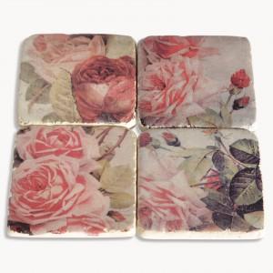 fairfield Rose coaster