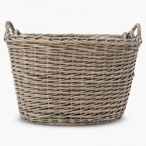 randwick set of 3 oval willow baskets