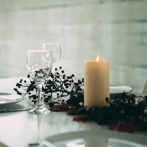 candles for a modern rustic interior