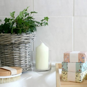 Owl and Accordion bathroom makeover
