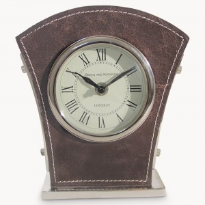 redlands-nickel-and-vintage-brown-leather-clock-ea7049-1.1100