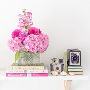 Zoe Power styles our One World Albany vase