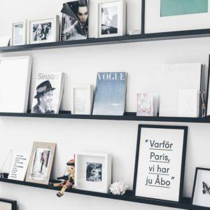 Scandinavian style shelves