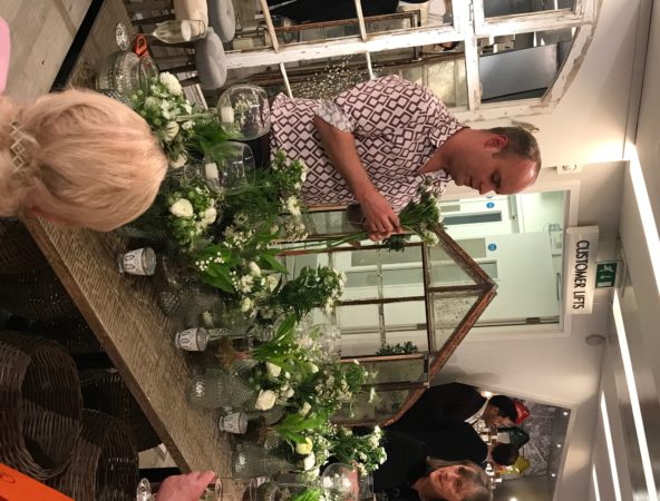 Larry Walshe at Harvey Nichols