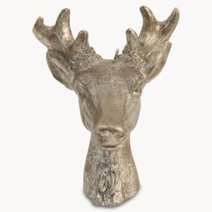 rosanna-large-deer-head-candle-in-silver-finish