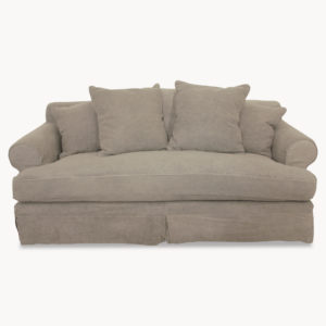 Kingswood Grey Linen 2.5 Seater Sofa