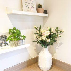 Sudbury White Vase