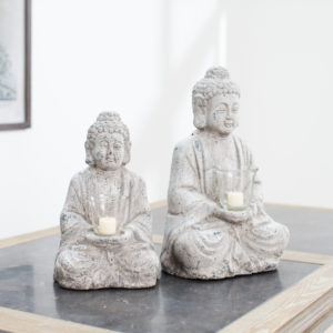 Buddha tea light holder