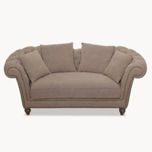 Two seater sofa in light beige